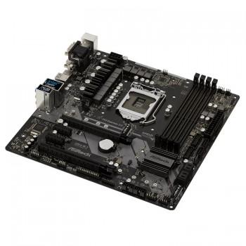 Asrock Z370M Pro4 1151 Socket 4 PCI-E Slot Micro ATX Form Factor Motherboard