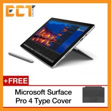 "(Demo Set) Microsoft Surface Pro 4 (i7-6650U,16GB,512GB,12.3"" FHD TCH,Win 10 Pro) + Free Type Cover (Black)"