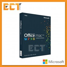 Genuine Microsoft Office 2011 Home and Business Retail Package with DVD for MAC