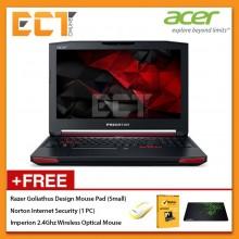 """Acer Predator 15 G9-593-75NF Gaming Laptop (i7-7700HQ 3.80GHz,1TB,128GB,8GB,GTX1060-6GB,15.6"""" FHD,W10)"""