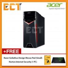 Acer Aspire GX GX-281-1700W10D Gaming Desktop PC (Ryzen 7 1700X 3.80GHz,1TB+256GB,8GB,ATI480-4GB,W10)
