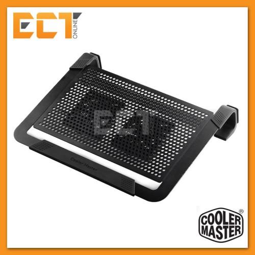 b2c0b2229e Cooler Master NotePal U2 Plus Two Fan Notebook Cooler Pad  (CM-R9-NBC-U2PK U2PS-GP) - Black   Silver