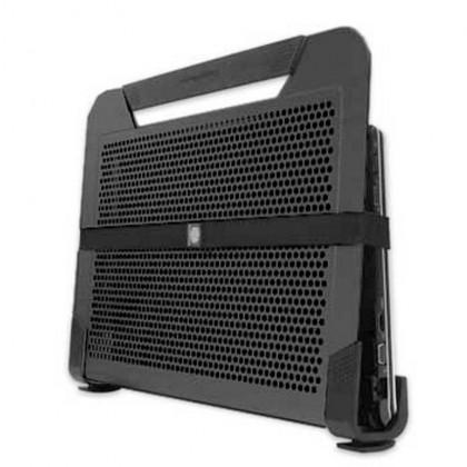 "Cooler Master NotePal U2 Plus Dual Movable 80mm Fan Aluminium 17"" Laptop Cooling Pad - Black"