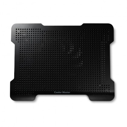"Cooler Master NotePal X-Lite II Silent 140mm Fan Ultra Slim 15.6"" Laptop Cooling Pad with 2 USB Hubs"