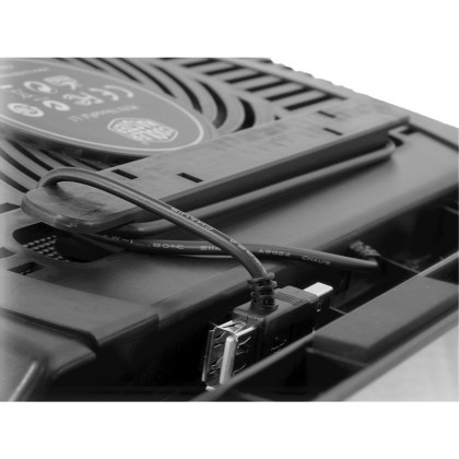 "Cooler Master NotePal L1 Silent 160mm Ultra Slim Lightweight 17"" Laptop Cooling Pad (R9-NBC-NPL1-GP)"
