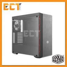 Cooler Master MasterBox MB600L Mid Tower with ODD Casing/Chassis (CM-MCB-B600L-KA5N-S00/S01/S02) - Red/Blue/Gunmetal