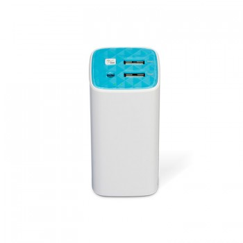 TP-Link 10400mAh 2 USB Fast Charge Rechargeable  Power Bank - White (TL-PB10400)
