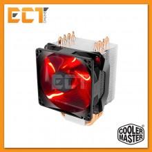 Cooler Master Hyper H410R Red LED CPU Air Cooler (CM-RR-H410-20PK-R1)
