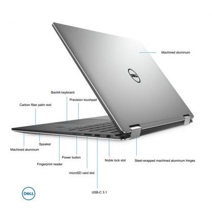 "(Demo Set) Dell Latitude 13 (7389) 2 in 1 Ultrabook (i5-7Y54 3.20GHz,256GB SSD,8GB,13.3""FHD Touch,W10P) - Black"