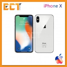 "(Ready Stock) Apple iPhone X (256GB,3GB,5.8"") - Silver"