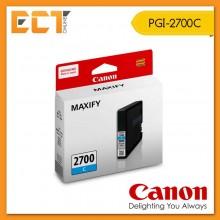 Genuine Canon PGI-2700C Cyan Ink Inkjet Cartridge