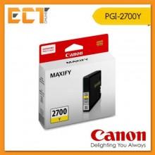 Genuine Canon PGI-2700Y Yellow Ink Inkjet Cartridge