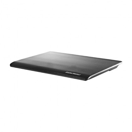 "Cooler Master NotePal I100 Black Silent 140mm Single Fan Ultra Slim Lightweight 15.4"" Laptop Cooling Pad"