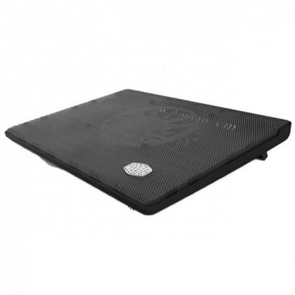 "Cooler Master NotePal I300 Silent 160mm Blue LED Fan 17"" Laptop Cooling Pad (R9-NBC-300L-GP)"