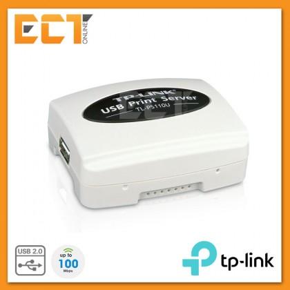 TP-Link TL-PS110U Single USB2.0 Port Fast Ethernet Print Server