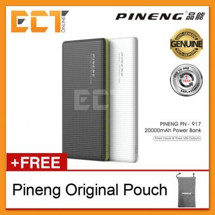 (Genuine) Pineng PN-917 20000mAh 3 Input & 3 Output Lithium Polymer Power Bank (1 Year 1 to 1 Exchange)