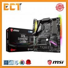 MSI Z370 GAMING PRO CARBON SLI RGB ATX Motherboard (LGA 1151 Socket)