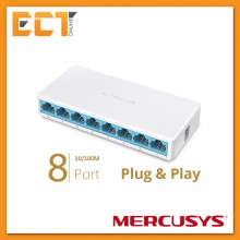 Mercusys TP-Link MS108 8 RJ45 Ports 100Mbps Mini Desktop Switch