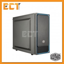 Cooler Master MasterBox E500L Mid Tower Casing/Chassis (CM-MCB-E500L-KA5N-S04/S05/S06) - Blue/Red/Silver