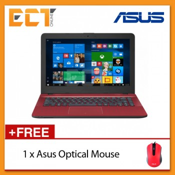 "Asus Vivobook Max X441U-VWX277T 14"" Laptop (i3-6100U,1TB,4GB,GT920MX-2G,W10)"