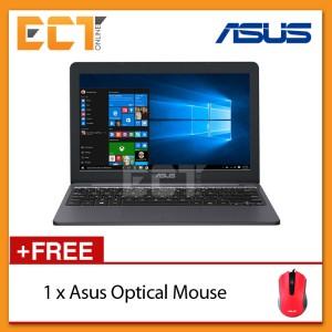 "Asus VivoBook E203N-AFD154T 11.6"" Laptop (N3350,32GB,2GB,W10) - Grey"