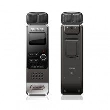 Philips VTR7000 Voice Tracer Digital Recorder with Double Speakers for Stereo Sound