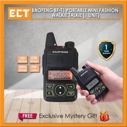 Baofeng BF-T1 Portable Mini Fashion Walkie Talkie (1 Unit)