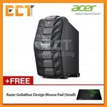 Acer Predator G3-710-7700 Gaming Desktop PC (i7-7700 4.20GHz,1TB+128GB,8GB,GTX1060-3G,W10) - Black