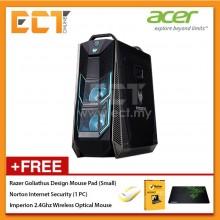 Acer Predator Orion PO9-600-8700K Gaming Desktop PC (i7-8700K 4.70GHz,2TB+256GB,16GB,GTX1080Ti-11G,W10) - Black