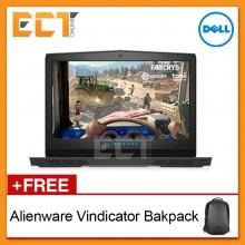"Dell Alienware CA17-8716126G-1060 17.3"" FHD Gaming Laptop (I7-8750H,1TB+256GB,16GB,GTX1060-6GB,W10)"