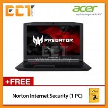 """Acer Predator Helios PH315-51-510T Gaming Laptop (i5-8300H 4.00GHz,1TB+128GB,4GB,GTX1060-6G,15.6"""" FHD,W10) - Black"""