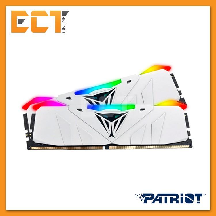 Patriot Viper RGB 16GB (8GBx2) DDR4 3200MHz CL16 Gaming Desktop/ PC RAM  (PVR416G320C6K)