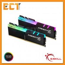 G.Skill Trident Z RGB for Ryzen & Threadripper 16GB (8GBx2) DDR4 2400MHz Gaming Desktop/ PC RAM (F4-2400C15D-16GTZRX)