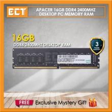 Apacer 16GB DDR4 2400MHZ (PC4-19200) Desktop PC Memory RAM