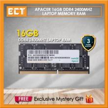 Apacer 16GB DDR4 2400MHz (PC4-19200) Laptop Memory RAM