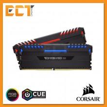 Corsair Vengeance RGB 16GB (8GBx2) DDR4 DRAM 3466MHz C16 Gaming Desktop RAM