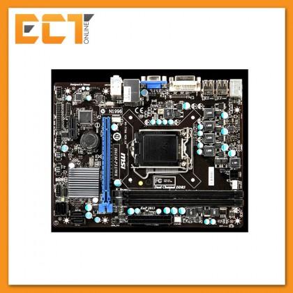 (Refurbished) MSI H61M-P31 (MS-7788) Socket 1155 Motherboard