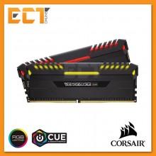 Corsair Vengeance RGB 16GB (8GBx2) DDR4 DRAM 2666MHz C16 Gaming Desktop RAM