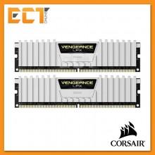 Corsair Vengeance LPX 16GB (8GBx2) DDR4 DRAM 2666MHz C16 Gaming Desktop RAM - White