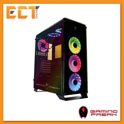 AVF Gaming Freak Aegis 850G Rainbow Tempered Glass ATX Gaming Casing Chassis
