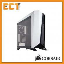 Corsair Carbide Series SPEC-OMEGA Tempered Glass Mid-Tower ATX Gaming Case - Black & White/ Black & Red
