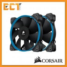 Corsair Air Series SP120 Quiet Edition High Static Pressure 120mm Fan - Twin Pack