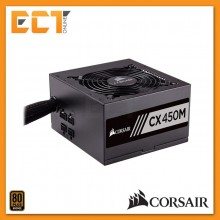Corsair CX Series CX450M 450W 80 PLUS Bronze Certified Modular ATX PSU