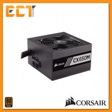 Corsair CX Series CX650M 650W 80 PLUS Bronze Certified Modular ATX PSU