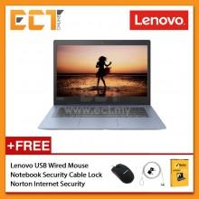 """Lenovo Ideapad 120S-14IAP 81A500GQMJ/ GRMJ Laptop (Celeron N3450 2.20GHz, 4GB, 128GB, 14"""" HD, W10H ) - Denim Blue/ Mineral Grey"""