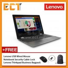 "Lenovo Yoga 330-3BMJ Touchscreen Laptop (N5000 2.70GHz, 4GB, 128GB, 11.6""  HD, W10) - Onyx Black"