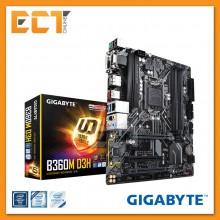 Gigabyte B360M D3H Optane Memory Ready CrossFire M-ATX Motherboard (LGA 1151)