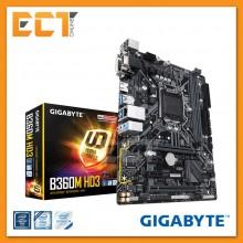 Gigabyte B360M HD3 Optane Memory Ready CrossFire M-ATX Motherboard (LGA 1151)