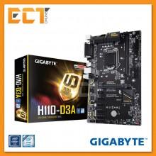 Gigabyte H110 D3A Ultra Durable ATX Motherboard (LGA 1151)