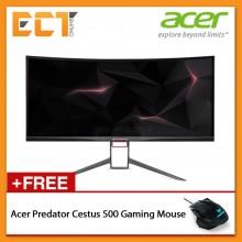 "Acer Predator Ultra-Wide Curve X34P 34"" UW-QHD (3440x1440) 4MS 120Hz LED Gaming Monitor (HDMI / DP / USB Hub / Speaker)"